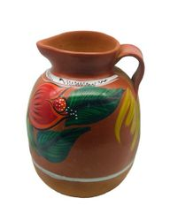 Colored Decoration Pitcher - Jarra de Barro Decorada - Ceramic
