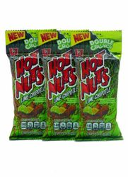 Barcel Hot-Nuts Lime Chipotle (Pack of 3)