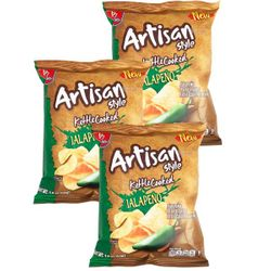Barcel Jalapeno Artisan Chip's Toreadas (Pack of 3)