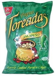 Barcel Artisan Papas Toreadas Jalapeno Potato Chips  (Pack of 3)