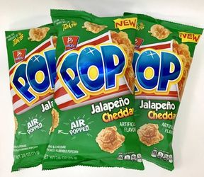 Barcel Pop Jalapeno Cheddar Popcorn (Pack of 3)
