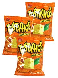 Barcel Tostachos Chili & Cheese Corn Chips (Pack of 3)