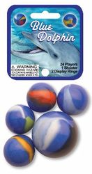 Blue Dolphin Marbles Game Net (Canicas)