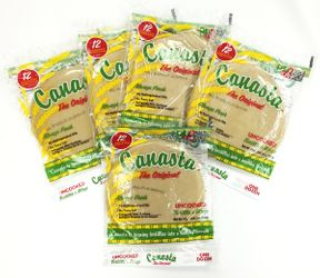 Canasta Uncooked Flour Tortillas with Lard - Pack of 5 dozen