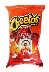 Cheetos Crunchy Tapatio Salsa Picante Made with Real Cheese (Pack of 3)