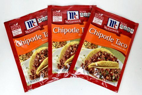 Chipotle Taco Seasoning Mix By Mccormick Pack Of 3