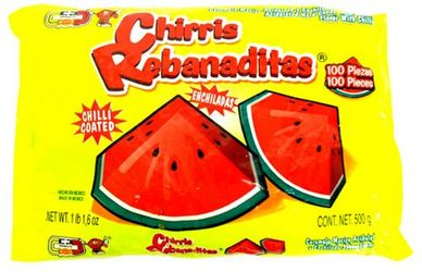 Chirris Rebanaditas Watermelon with Chilli Hard Candy
