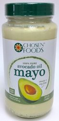 Avocado Oil Mayonnaise by Chosen Foods