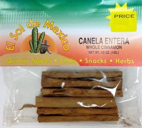 Cinnamon Sticks - Canela by El Sol de Mexico