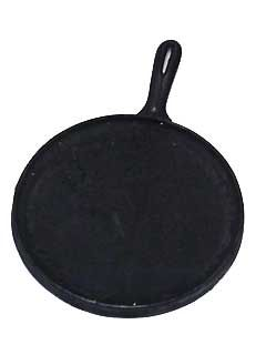Comal - Cast Iron Plate Round - 10 5 in10 5 in