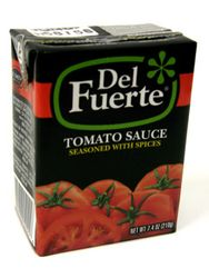 Del Fuerte Tomato Sauce Seasoned with Spices - Tetra Pak (Pack of 6)