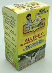 Doctor Manzanilla Allergy Decongestant Relief Syrup