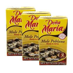 Dona Maria Mole Poblano Ready to Serve (Pack of 3)