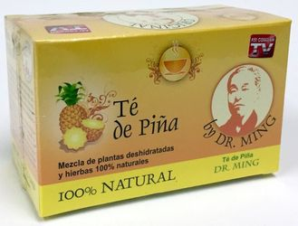 Dr Ming Pineapple Tea 100 % Natural Te de Piña 21 g