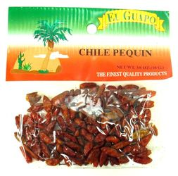 Dried Chile Pequin Chili Pods