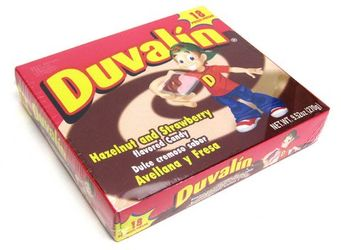 Duvalin Hazelnut Strawberry Candy Creams