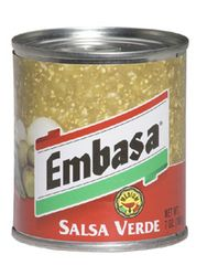 Embasa Salsa Verde - Green Salsa (Pack of 3)