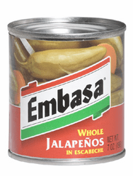 Embasa Whole Jalapenos in Escabeche (Pack of 3)