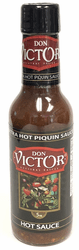 Extra Hot Piquin Hot Sauce by Don Victor