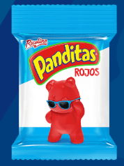 Extreme Heat Panditas Spicy Gummy Bears by Ricolino (Pack of 3)