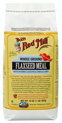 Flaxseed - Organic Whole Ground Flaxseed Meal by Bob's Red Mill