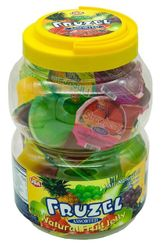Fruzel Assorted All Natural Fruit Jelly by Neo USA