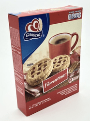 Gamesa Florentinas Cookies with Strawberry