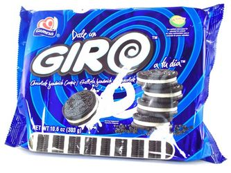 Gamesa Giro Chocolate Sandwich Cookies