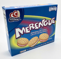Gamesa Merengue Marshmallow Cookies