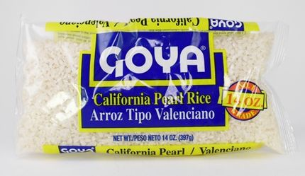 Goya California Pearl Rice / Arroz Valenciano (Pack of 3)