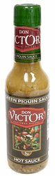 Green Piquin Hot Sauce by Don Victor