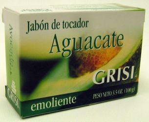 GRISI Aguacate - Avocado Bar Soap (Pack of 3)