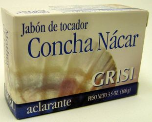 GRISI Concha Nacar - Mother of Pearl Bar Soap (Pack of 3)