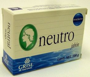 GRISI Neutro - Neutral Bar Soap (Pack of 3)