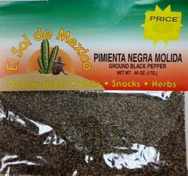 Ground Black Pepper by El Sol de Mexico