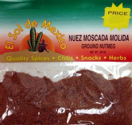 Ground Nutmeg - Nuez Moscada Molida
