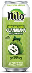 Guanabana - Soursop 100% Natural Juice by NILO (Pack of 4)