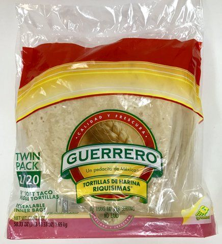 Guerrero Flour Tortillas 2 20 Ct Tortillas De Harina Riquisimas 8