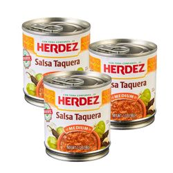 Herdez Salsa Taquera - Med (Pack of 3)