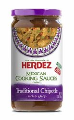 Herdez Traditional Chipotle Mexican Cooking Sauce