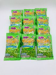 Hola Chicharos Wasabi Peas (Pack of 12)