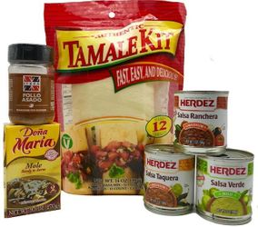 ITZZA Easy to Make Tamale Kit by MexGrocer