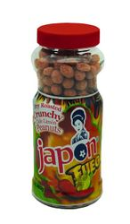 JAPON FUEGO Dry Roasted Crunchy Chile Limon Peanuts