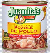 Juanita's Chicken Pozole with Red Chiles