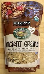 Kirkland Ancient Grains Granola with Almonds Nature's Path Organic