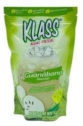 KLASS Guanabana (Soursop) Drink Mix-Makes 8.6 Liters