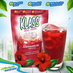 KLASS Hibiscus (Jamaica) Drink Mix-Makes 8.6 Liters
