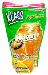 KLASS Orange Drink Mix-Makes 8.6 Liters