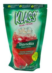 KLASS Watermelon (Sandia) Drink Mix-Makes 8.6 Liters
