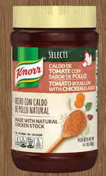 Knorr Tomato Bouillon with Chicken Flavor NO MSG